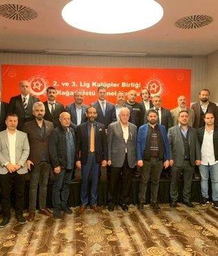 2'nci ve 3'üncü Lig Kulüpler Birliği'nde yeni başkan Volkan Can