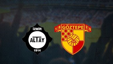 Altay Göztepe maçı CANLI