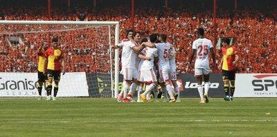 Sivasspor, Göztepe'yi tek golle geçti