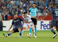 Trabzonspor-Basel maçından kareler