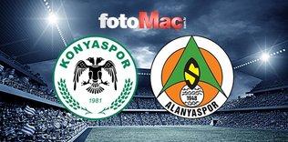 Konyaspor Alanyaspor'u rahat geçti!