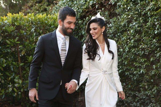 Arda Turan ve Aslıhan Doğanın nikahının detayları