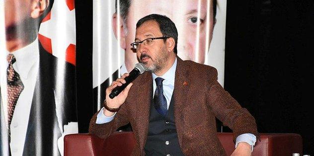 """Bakan Kasapoğlu: """"Ülkemiz kirli şebekelerin her zaman hedefinde"""""""