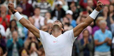 Rafael Nadal Wimbledon'da yarı finalde