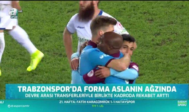 Trabzonspor'da forma aslanın ağzında