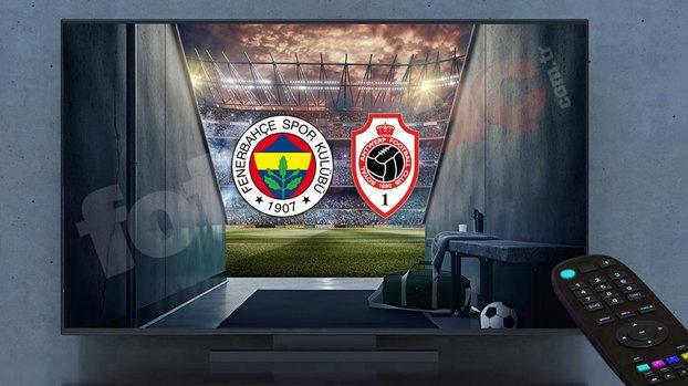 Fenerbahçe - Antwerp maçı ŞİFRESİZ CANLI nasıl izlenir? Fenerbahçe maçı hangi kanalda CANLI yayınlanacak?