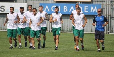 Bursaspor'da tempo düşmüyor