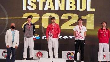 Milli karatecilerden ilk günde 14 madalya!