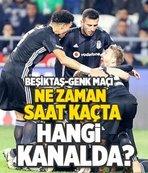 Beşiktaş-Genk maçı hangi kanalda?