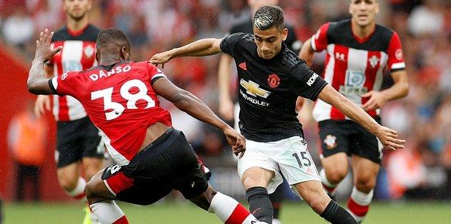 Manchester United Southampton'la berabere kaldı