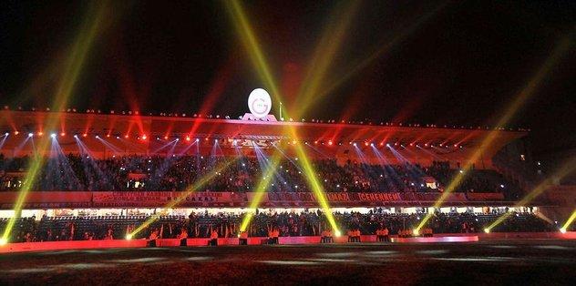 G.Saray, Ali Sami Yen Stadı'nı unutmadı