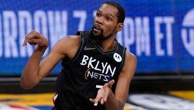 Son dakika spor haberi: Kevin Durant Brooklyn Nets ile uzatıyor! 198 milyon Dolar...