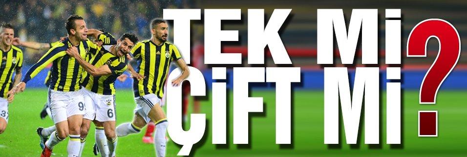 Fenerbahçe çift forvetle mi, tek forvetle mi oynayacak?