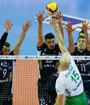 Arkas Spor 0-3 Bursa Büyükşehir Belediye