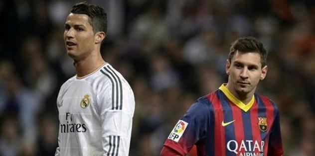 Messi'den Ronaldo'ya övgü