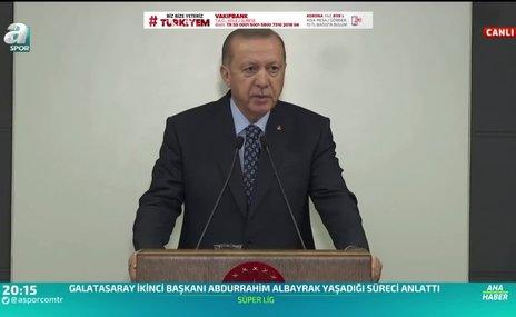 Başkan Erdoğan corona virüsü ile ilgili yeni tedbirleri açıkladı