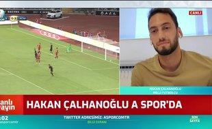 Hakan Çalhanoğlu: Birlikte oynadığım en iyi oyuncular Emre ve Arda