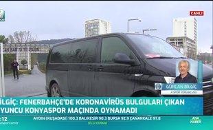 """""""F.Bahçe'de corona virüsü bulguları çıkan oyuncu Konyaspor maçında oynamadı"""""""