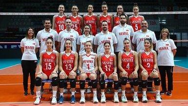 Dominik Cumhuriyeti - Türkiye: 0-3   Dünya 18 Yaş Altı Kadınlar Voleybol Şampiyonası