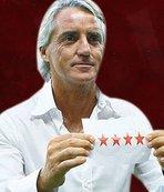 Mancini'den taraftarları mest eden hareket