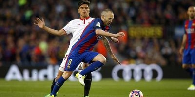 Barcelona Sevilla'yı rahat geçti