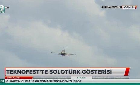 Teknofest'te SoloTürk resitali