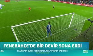 Fenerbahçe'de bir devir sona erdi