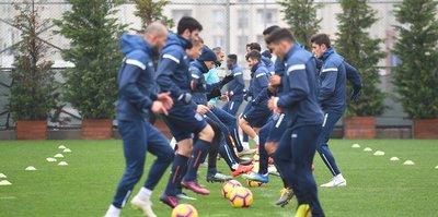 Medipol Başakşehir'de Erzurumspor maçının hazırlıkları