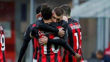Hakan yıldızlaştı Milan farka koştu!