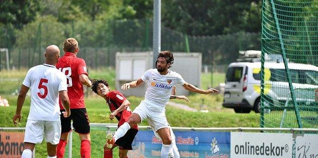 Kayserispor Freiburg'dan 9 gol yedi