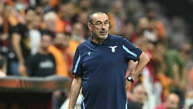 Galatasaray-Lazio maçının ardından Maurizio Sarri'den Galatasaray ve Vedat Muriqi sözleri!