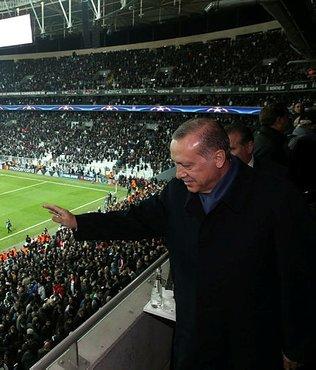 Cumhurbaşkanı Erdoğan, Beşiktaş-Porto maçını izleyecek