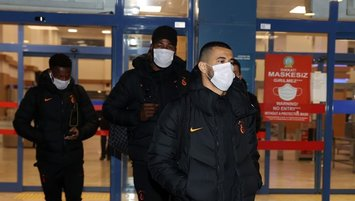 Galatasaray Trabzon'a geldi!