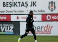 Beşiktaş'ta yeni transfer antrenmana çıktı