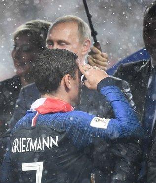 İşte iki yüzlü Avrupa! Griezmann da asker selamı vermişti