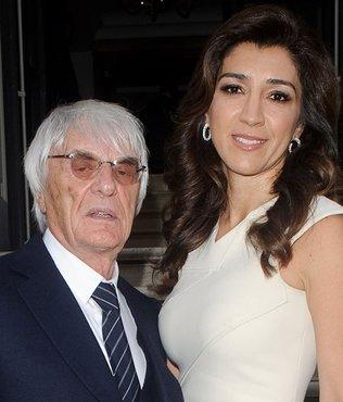 Formula 1'in eski patronu Ecclestone 89 yaşında baba oldu!