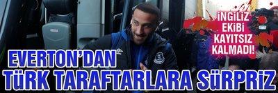 Everton'dan Türk taraftarlara sürpriz
