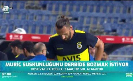 Vedat Muriç gol suskunluğunu bozmak istiyor