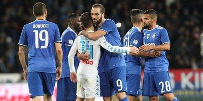 Juventus ile Napoli yenişemedi