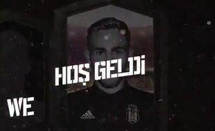 Beşiktaş transferi böyle duyurdu