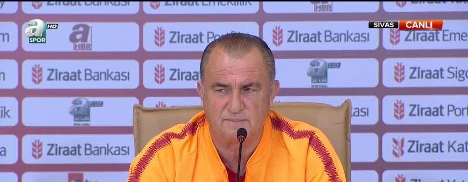 Fatih Terim'den Fenerbahçe'ye gönderme!