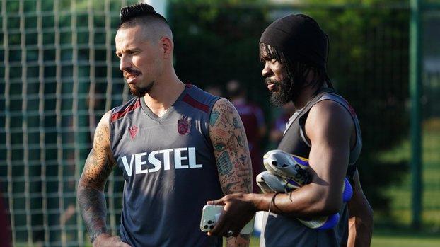 Son dakika spor haberi: Marek Hamsik Trabzonspor'da ilk antrenmanına çıktı! İşte idmandan kareler (TS spor haberi)
