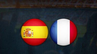 İspanya Fransa maçı ne zaman? Saat kaçta ve hangi kanalda CANLI yayınlanacak? | UEFA Uluslar Ligi final