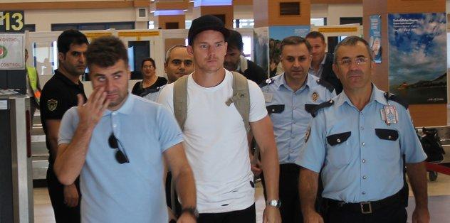 Hubocan Trabzon'a geldi