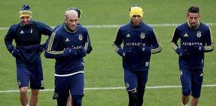 Fenerbahçe 8 eksikle çalıştı