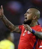 Arturo Vidal, milli takımı bıraktı