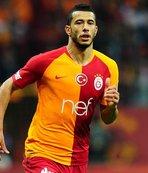 Galatasaray'da Belhanda 100. maçına çıktı!