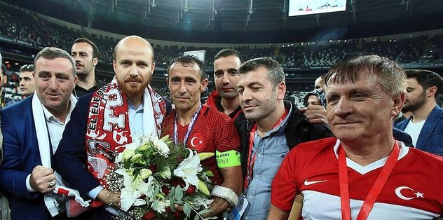 Bilal Erdoğan'dan şampiyonluk yorumu