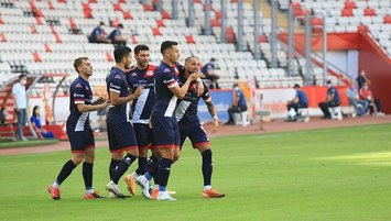 Antalyaspor'un üç yeni transferi ilkleri yaşadı