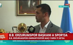 Erzurumspor Süper Lig'i hedefliyor!